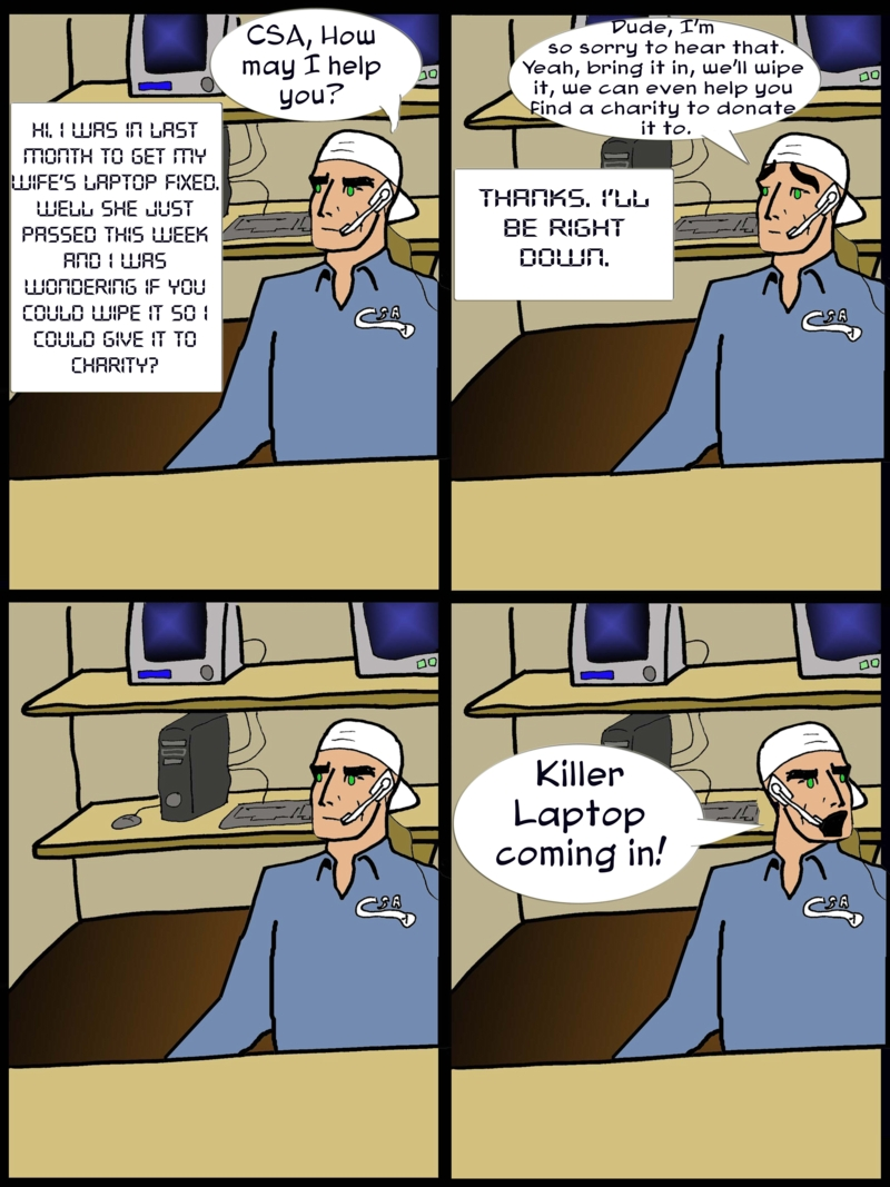 Killer Laptop
