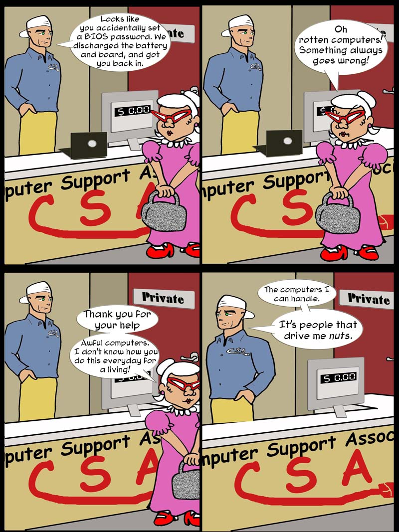 computer customers