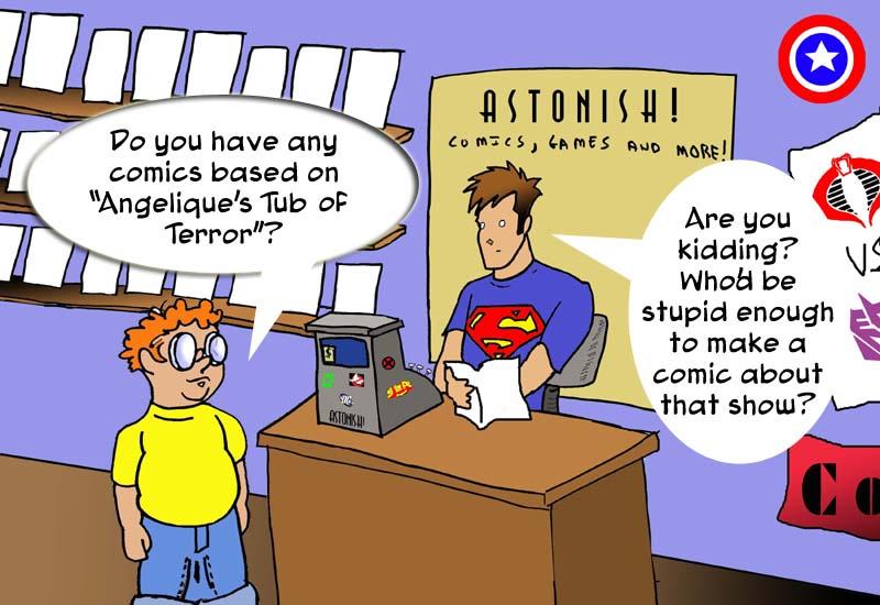 Tub comic