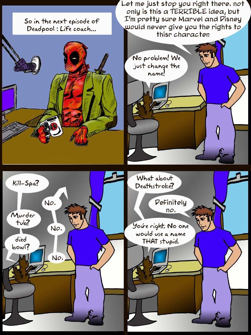 Deadpool show 5