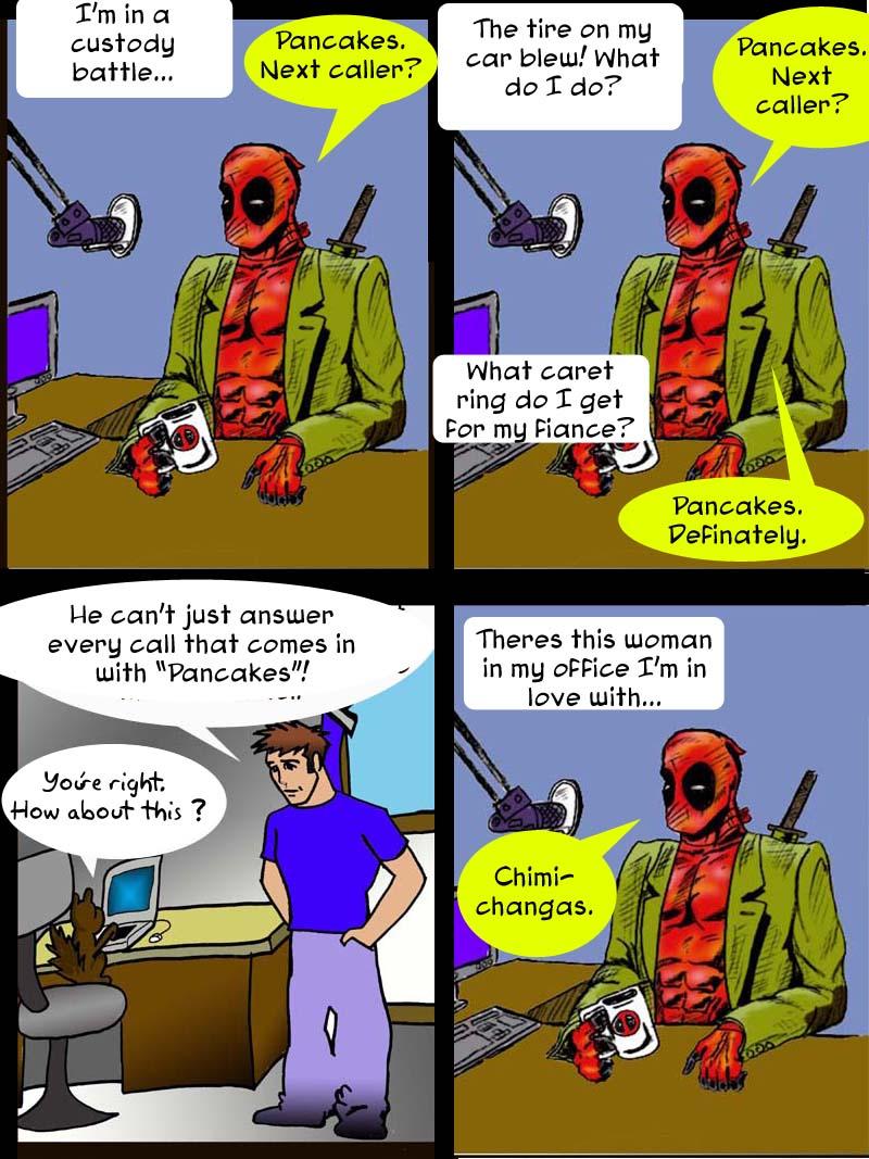 Deadpool show 4